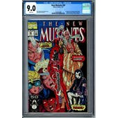 New Mutants #98 CGC 9.0 (W) *1362243008*