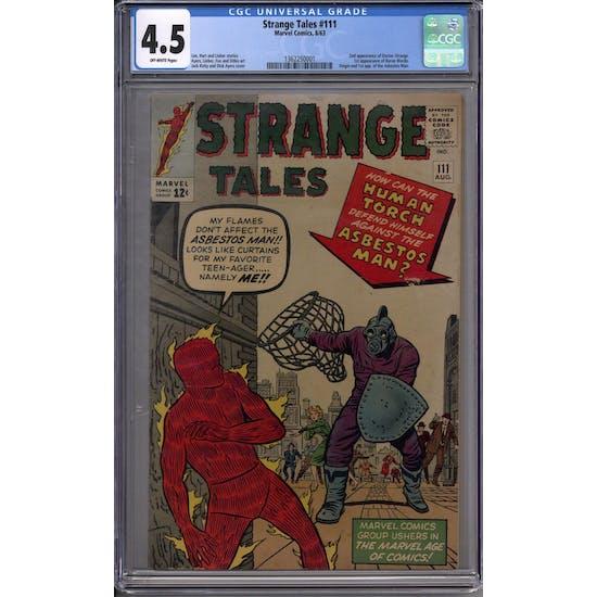 Strange Tales #111 CGC 4.5 (OW) *1362250001*