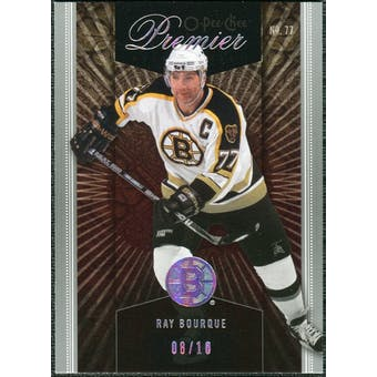 2009/10 Upper Deck OPC Premier Gold Spectrum #43 Ray Bourque 8/10