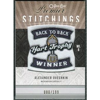 2009/10 Upper Deck OPC Premier Stitchings #PSAO Alexander Ovechkin /199