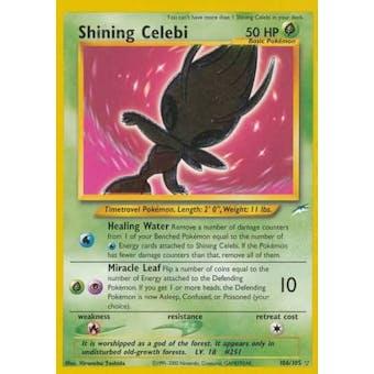 Pokemon Neo Destiny Single Shining Celebi 106/105
