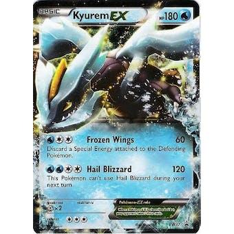 Pokemon Promo Single Kyurem ex BW37 - SLIGHT PLAY (SP)