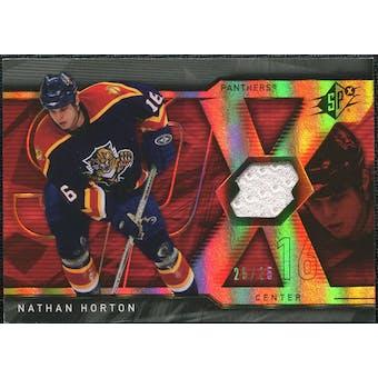 2007/08 Upper Deck SPx Spectrum #58 Nathan Horton Jersey /25