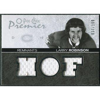 2007/08 Upper Deck OPC Premier Remnants Triples #PRLR Larry Robinson /100