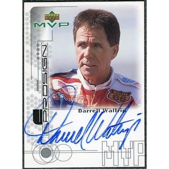 1999 Upper Deck MVP ProSign #DWR Darrell Waltrip Silver Autograph