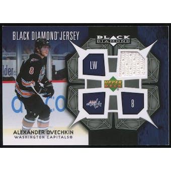 2007/08 Upper Deck Black Diamond Jerseys #BDJAO Alexander Ovechkin SP