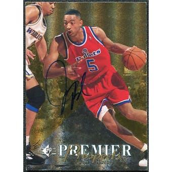 1997/98 Upper Deck SP Authentic BuyBack #14 Juwan Howard 94-5 Autograph SP/50