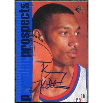 1997/98 Upper Deck SP Authentic BuyBack #26 Kerry Kittles 96-7 Autograph /201