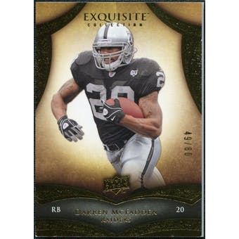 2009 Upper Deck Exquisite Collection #94 Darren McFadden /80