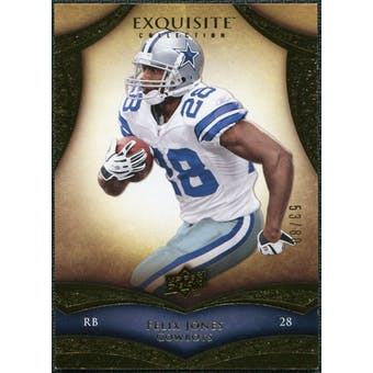 2009 Upper Deck Exquisite Collection #96 Felix Jones /80