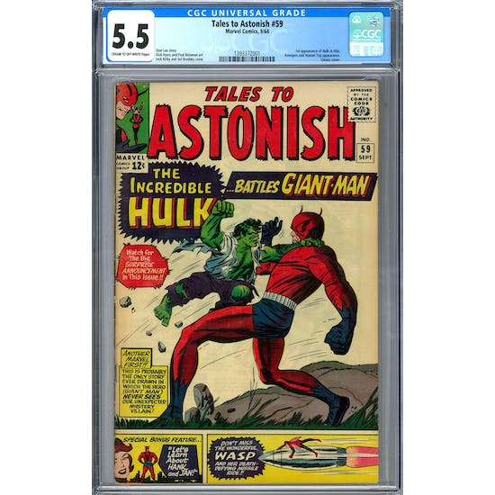Tales to Astonish #59 CGC 5.5 (C-OW) *1393372001*