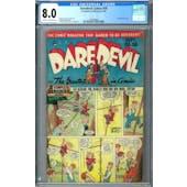 Daredevil Comics #50 CGC 8.0 (C-OW) *1393405007*