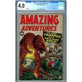 Amazing Adventures #3 CGC 4.0 (W) *1393405014*