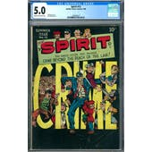 Spirit #12 CGC 5.0 (C-OW) *1393405017*