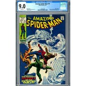 Amazing Spider-Man #74 CGC 9.0 (W) *1393407003*