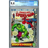 Amazing Spider-Man #119 CGC 9.4 (W) *1393407007*