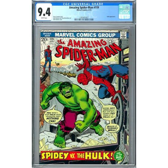 Amazing Spider-Man #119 CGC 9.4 (W) *1393407007*