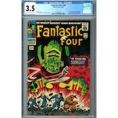Fantastic Four #49 CGC 3.5 (OW-W) *1393407012*