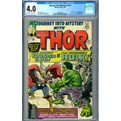 Journey Into Mystery #112 CGC 4.0 (OW-W) *1393407014*