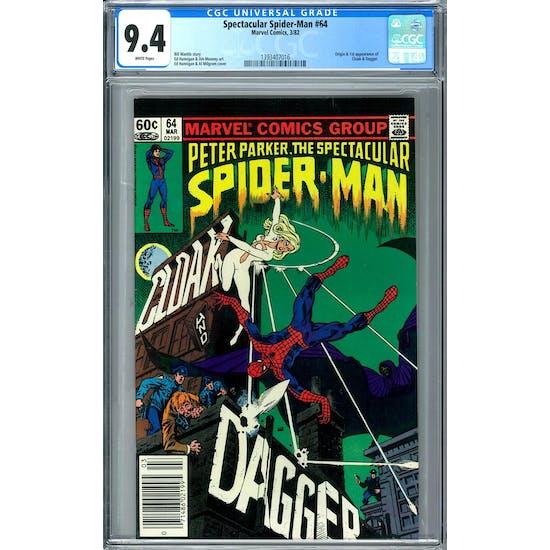 Spectacular Spider-Man #64 CGC 9.4 (W) *1393407016*
