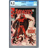 Avengers #57 CGC 9.2 (W) *1395108001*