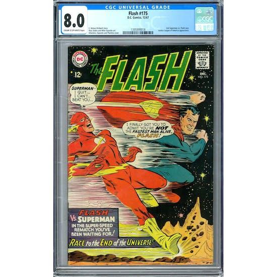 Flash #175 CGC 8.0 (C-OW) *1395999018*