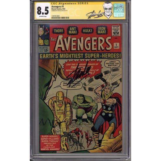 Avengers #1 Stan Lee Signature Series CGC 8.5 (OW) *1397914001*