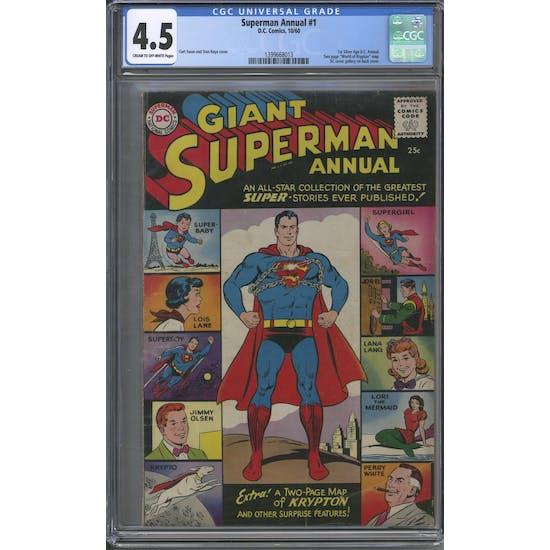 Superman Annual #1 CGC 4.5 (C-OW) *1399668013*
