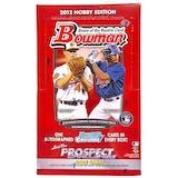 2013 Bowman Baseball Hobby Box