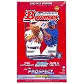 2013 Bowman Baseball Jumbo Box