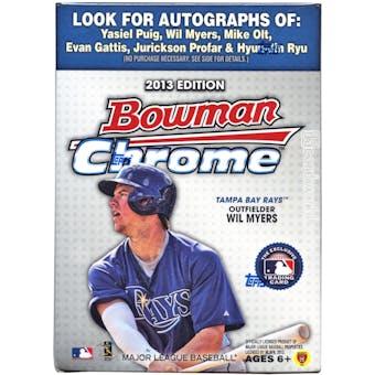 2013 Bowman Chrome Baseball 8-Pack Box