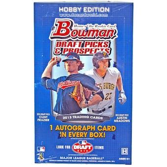 2013 Bowman Draft Picks & Prospects Baseball Hobby Box