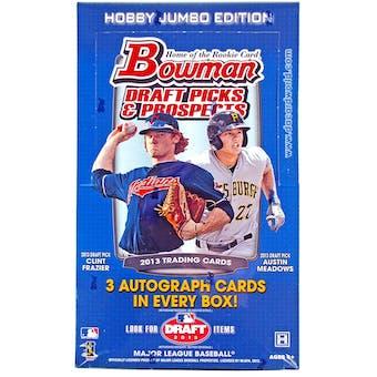 2013 Bowman Draft Picks & Prospects Baseball Jumbo Box