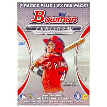 2013 Bowman Platinum Baseball 8-Pack Box