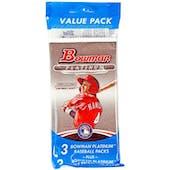 2013 Bowman Platinum Baseball Value Pack