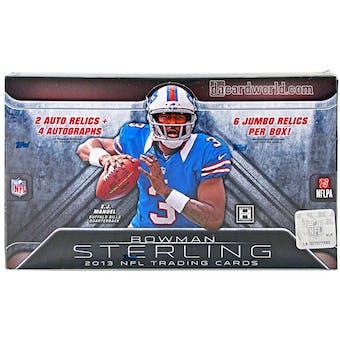 2013 Bowman Sterling Football Hobby Box