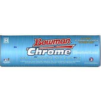 2013 Bowman Chrome Mini Baseball Hobby Box (Set)