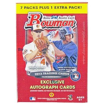 2013 Bowman Baseball 8-Pack Box