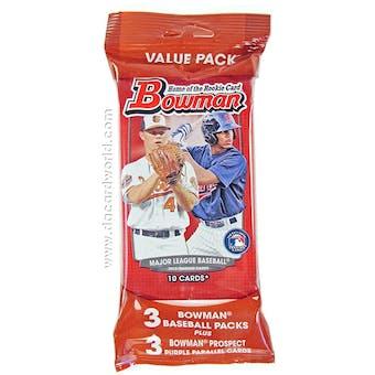 2013 Bowman Baseball Jumbo Value Pack