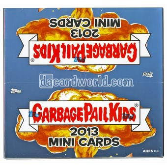 Garbage Pail Kids Mini Cards Hobby Box (Topps 2013)