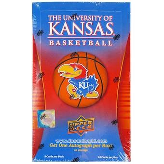 2013 Upper Deck The University of Kansas Basketball Hobby Box