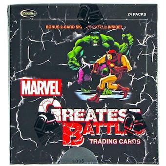 Marvel Greatest Battles Trading Cards Box (Rittenhouse 2013)