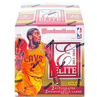 2013/14 Panini Elite Basketball Hobby Box