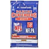 2013 Panini Contenders Football Retail Pack
