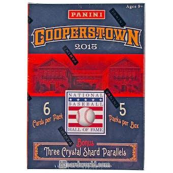2013 Panini Cooperstown Baseball 5-Pack Box