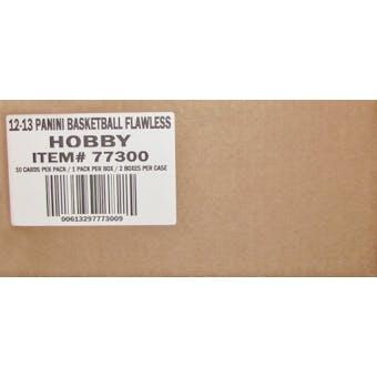 2012/13 Panini Flawless Basketball Hobby 2-Box Case
