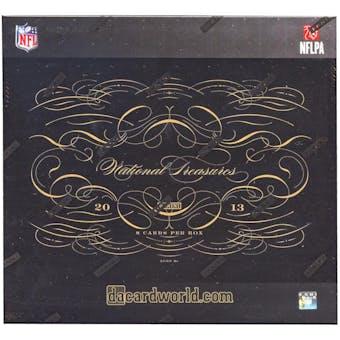 2013 Panini National Treasures Football Hobby Box