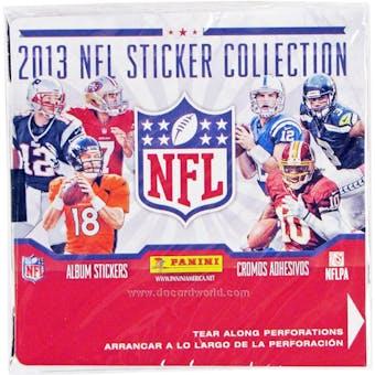 2013 Panini NFL Football Sticker Box - 50 packs!