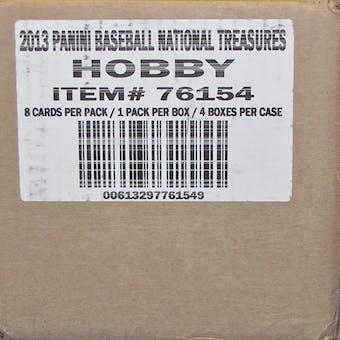 2012 Panini National Treasures Baseball Hobby 4-Box Case