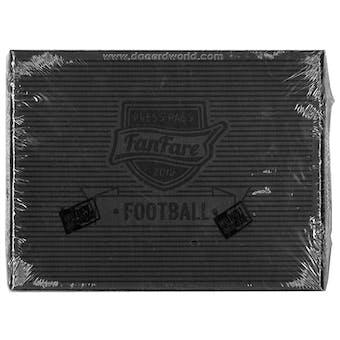 2013 Press Pass Fanfare Football Hobby Box